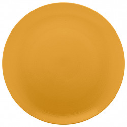 img-Plat rond d31.5cm modulo nature ocre