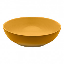 img-Saladier rond d24cm-1.5l modulo nature ocre