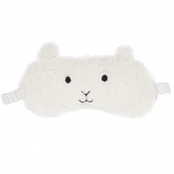 img-Masque de nuit mouton calin gris