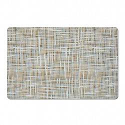 img-Set de table « abstrait » gris 43.5x28.5xh0.05cm