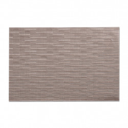 "img-Set de table ""tendance"" taupe  45x30xh0.1cm"