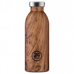 img-Gourde isotherme clima 500ml sequoia wood
