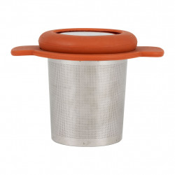 img-Infuseur colorada terracotta 10x7xh7.5cm silicone,inox