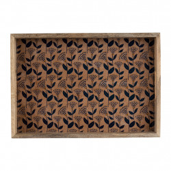 img-Plateau vegetal girly rose,indigo 43x30cm manguier,mdf