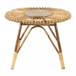 img-Table basse rotin naturel d60cm