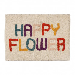img-Tapis happy sevent's multicolore 60x40cm coton