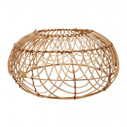 img-Suspension n/electrique flora gipsy naturel d49xh25cm rotin